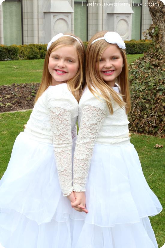 The Twins Baptism Photo Shoot