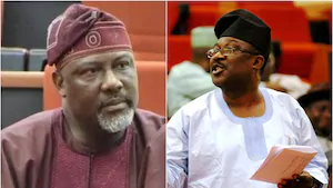 JUST IN: APC's Smart Adeyemi Defeats Dino Melaye of PDP to win Kogi West Senate Seat.