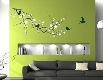 Idea creativa para decorar la pared