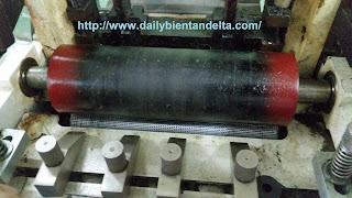 Lô kéo trong máy cắt đai Auto Vina cung cấp