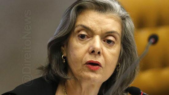carmen lucia condenado corrupcao stf direito