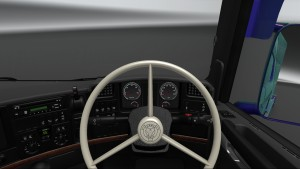 Scania 5-Series Alexa gauges