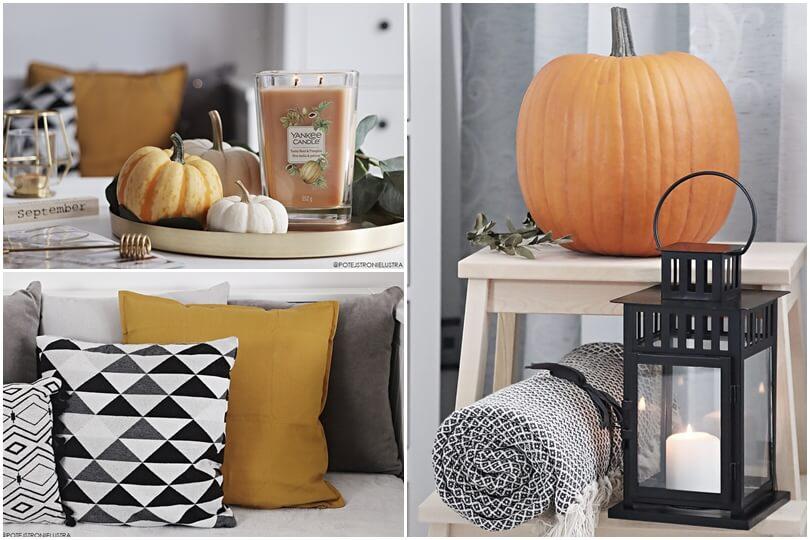 dekoracje domu na jesień blog