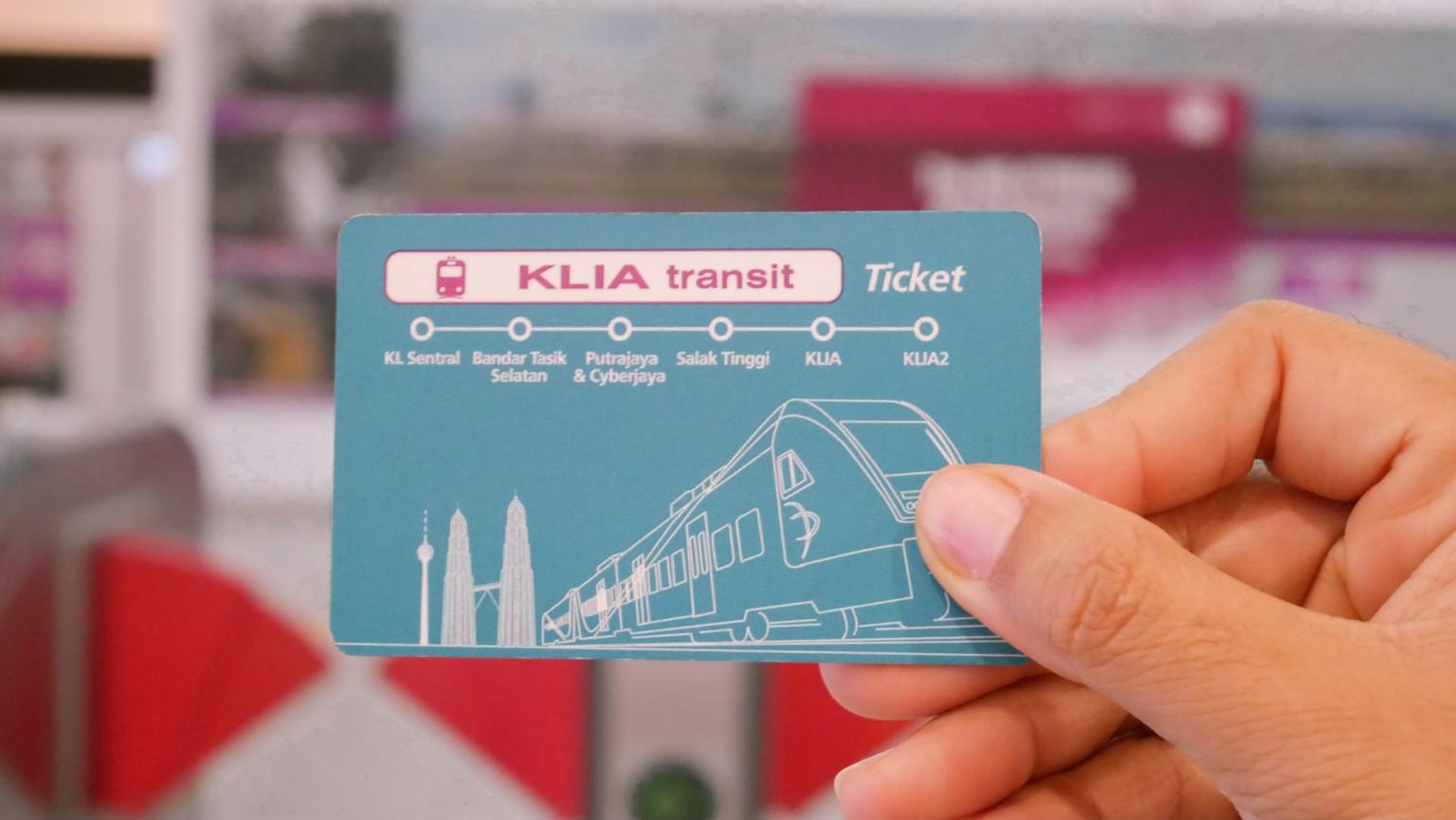 naik KLIA Transit ke Putrajaya