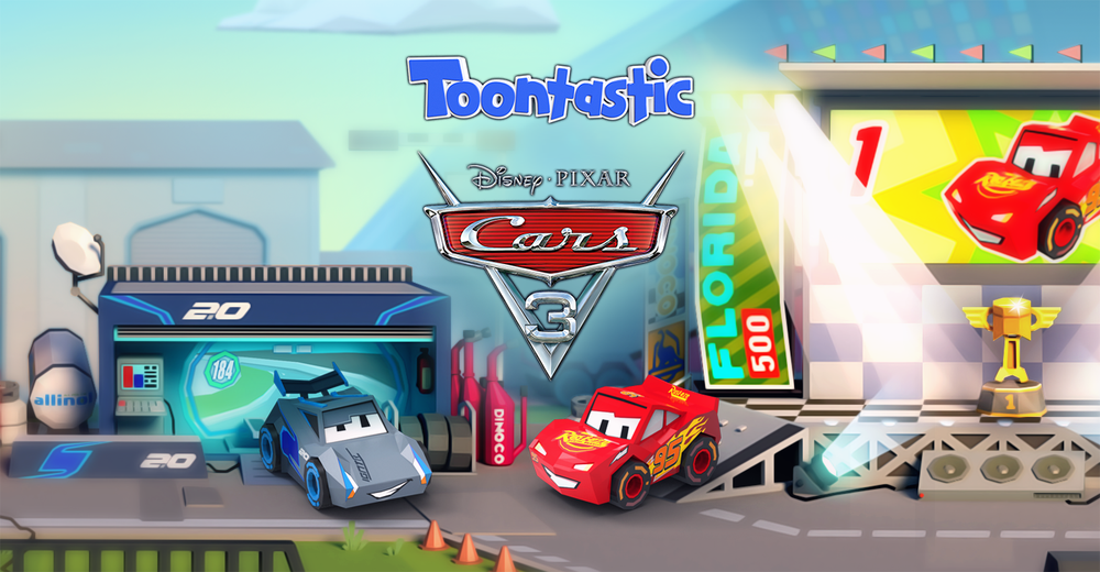 toontastic 3d app update gets cars 3 and fruit ninja themes