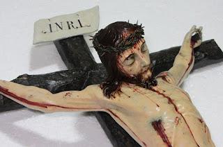 El Santo Ángel recupera un crucificado atribuido a la escuela genovesa