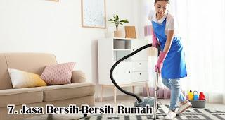 Jasa Bersih-Bersih Rumah merupakan salah satu rekomendasi ide bisnis menguntungan jelang lebaran idul fitri