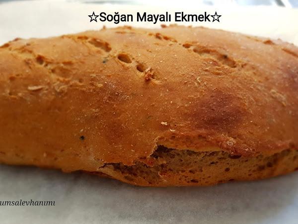 Soğan Mayası ile Ekmek Yapımı