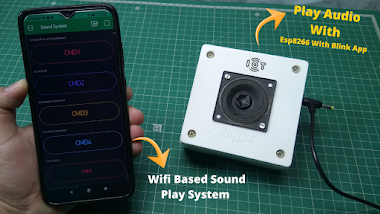 Play Audio Sound With Esp8266 With Blink App