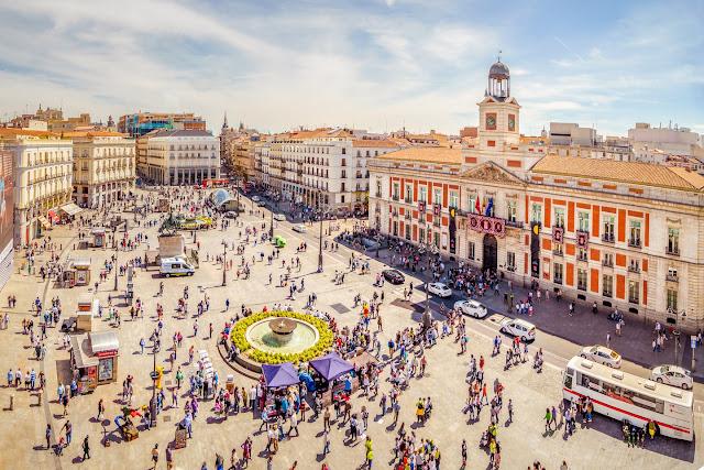 ¿Qué haces en Madrid?