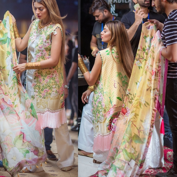 Rungrez Festive Lawn Eid Collection 2017