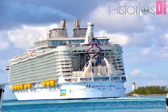 Cruzeiro chegando em Nassau