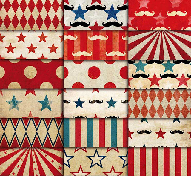 circus patterns printable - photo #21