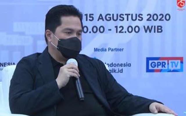 Erick Thohir Tegaskan Pusat Dukung Pemda Terapkan Kembali PSBB