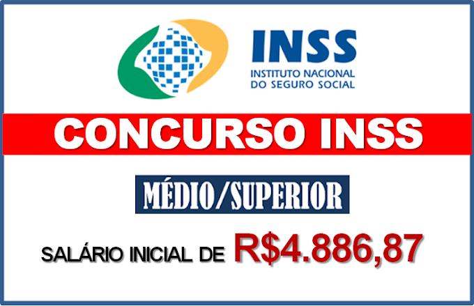 Concurso INSS: Instituto vai solicitar um novo edital até maio. Salário de R$4.886,87