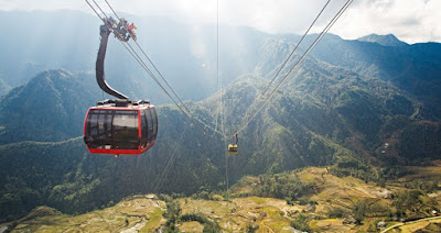 A Cable Car Route in Sapa