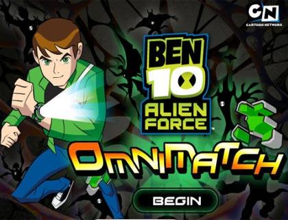 تحميل لعبة الاكشن والمغامرات بن تن Ben 10 Alien Force كاملة ومجانية