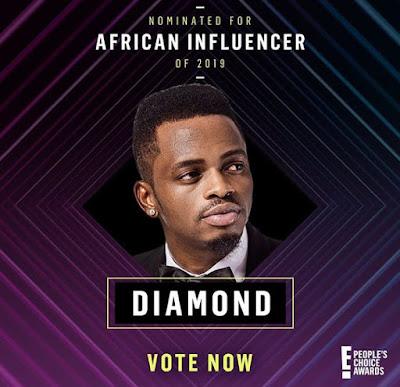 diamond, diamond Platnumz, Naseeb Abdul Juma, Tanzanian artiste, people's choice awards