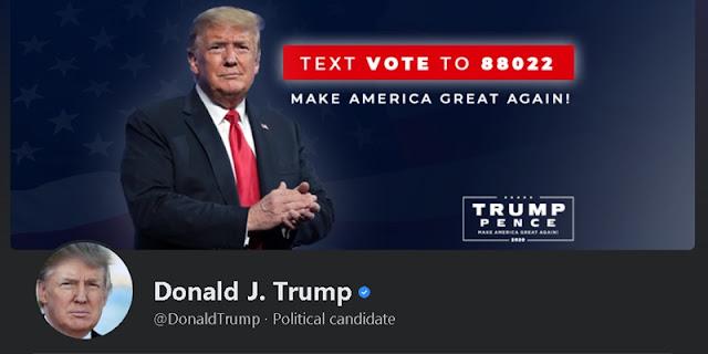 Heboh Akun Media Sosial Donald Trump Dipulihkan Kembali, Facebook: Tidak Benar, Dia Tetap Ditangguhkan Tanpa Batas Waktu