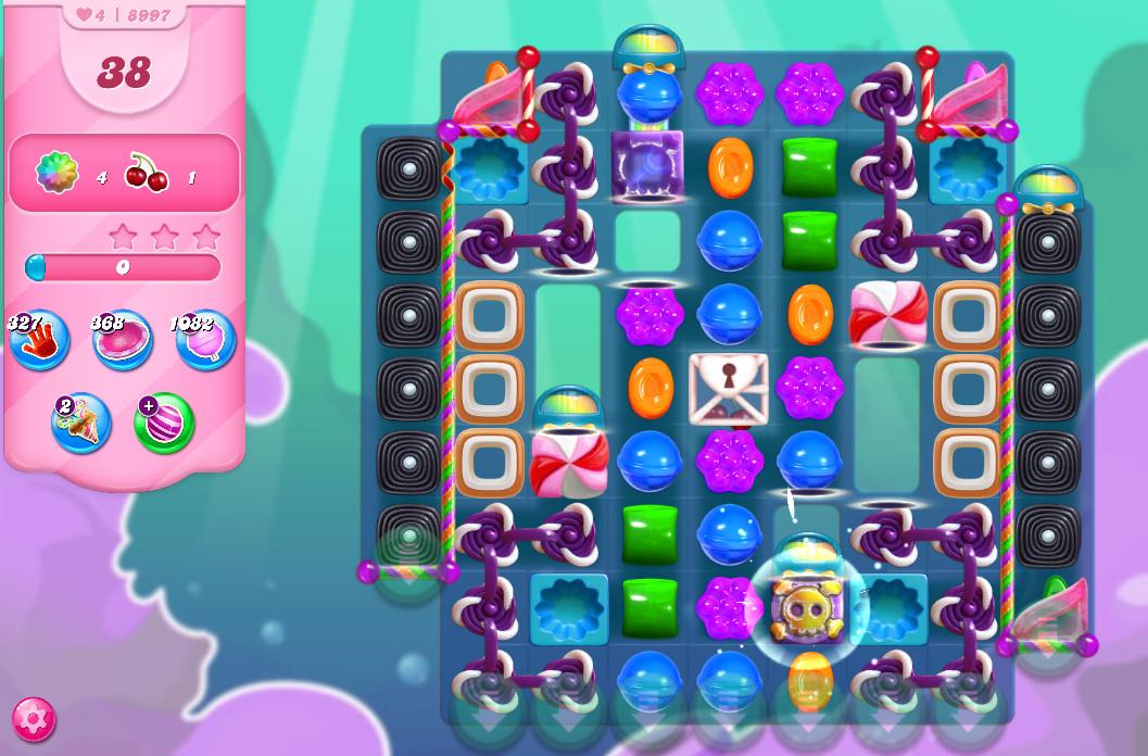 Candy Crush Saga level 8997
