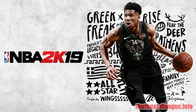 Download Game NBA 2K19 Full Crack – Game Bóng Rổ PC