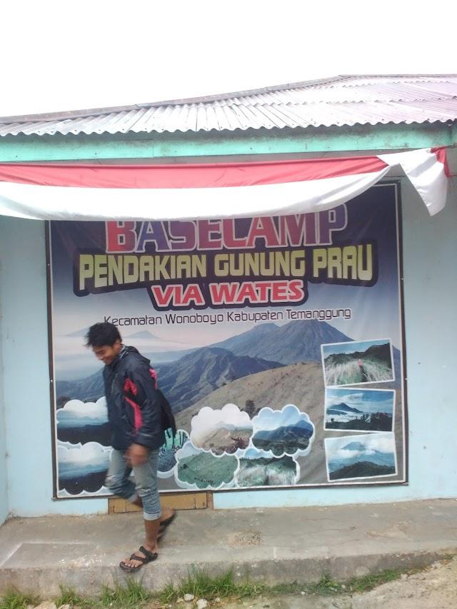 Pendakian Prau Via Wates