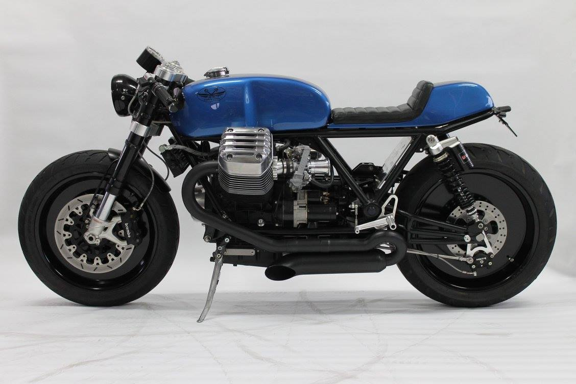 racing caf moto guzzi california 1400 ristretto nr uno by radical guzzi. Black Bedroom Furniture Sets. Home Design Ideas