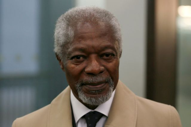 UN Former Secretary-General Kofi Annan dies at age 80