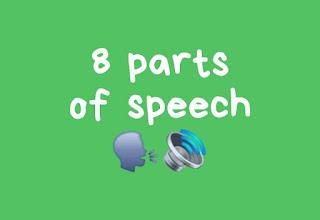 8 Parts of Speech (Kelas Kata)