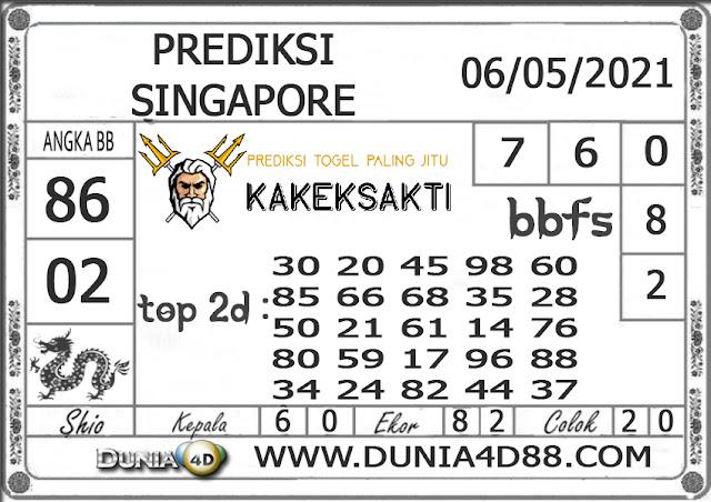 Prediksi Togel SINGAPORE DUNIA4D 26 MEI 2021