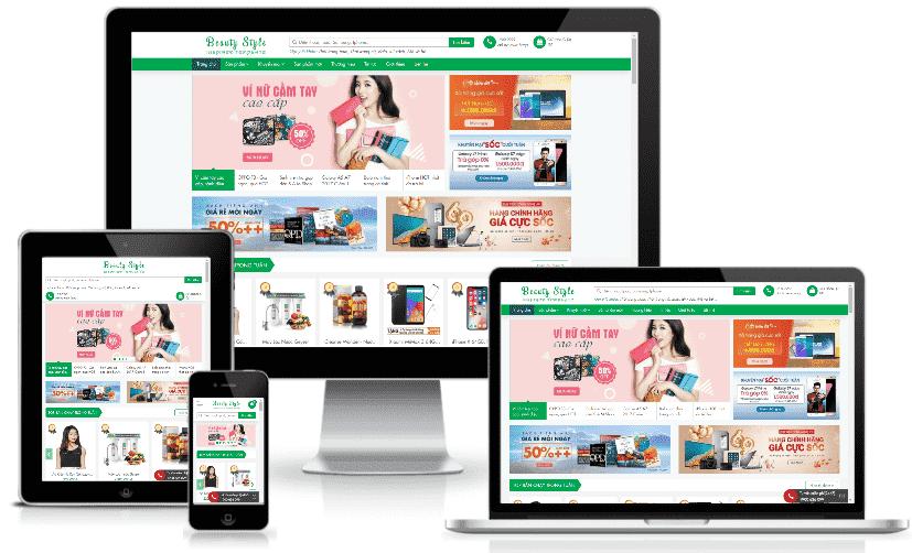Template Blogspot bán hàng đa sản phẩm