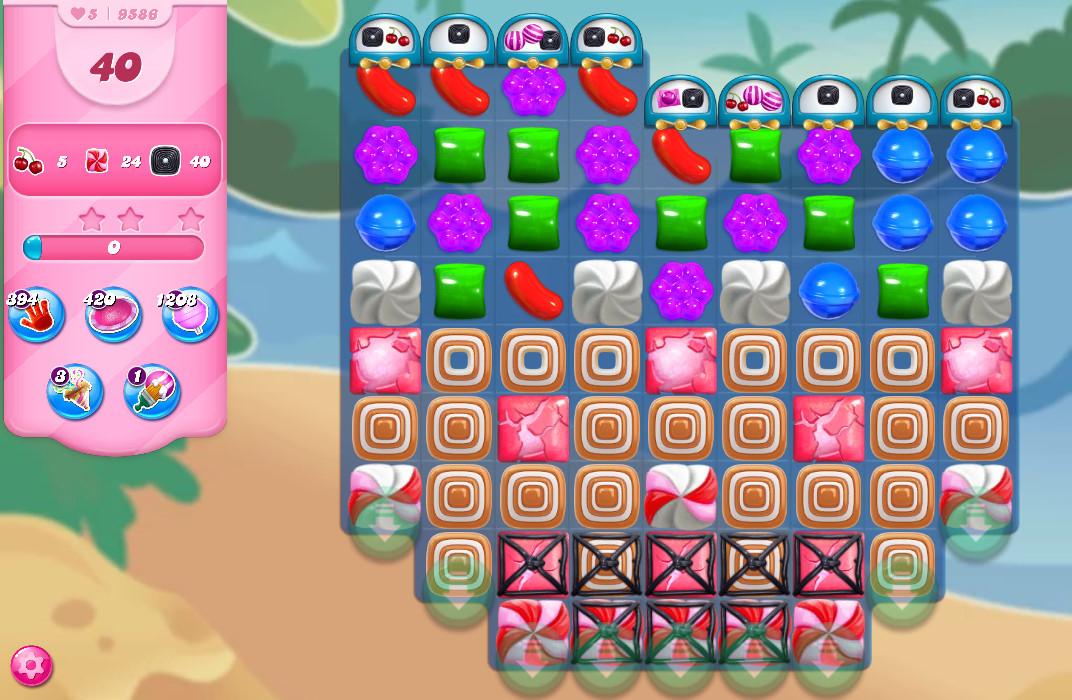 Candy Crush Saga level 9586