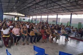 Prefeitura de Picuí abre o ano letivo com semana pedagógica 2019