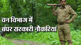 वन विभाग भार्ती 2020 Forest Department recruitment 2020
