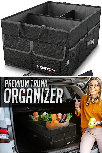 FORTEM Car Trunk Organizer