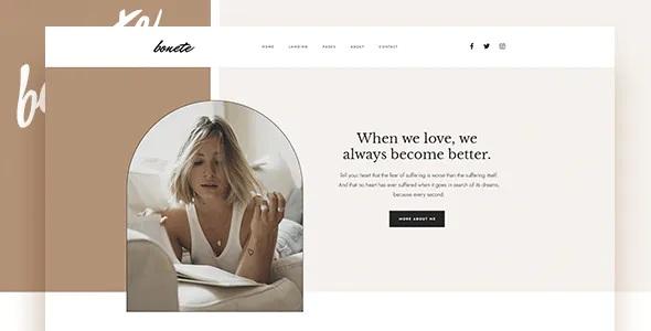 Best Personal Blog HubSpot Theme