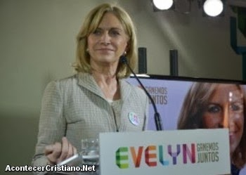 Candidata presidencial, Evelyn Matthei