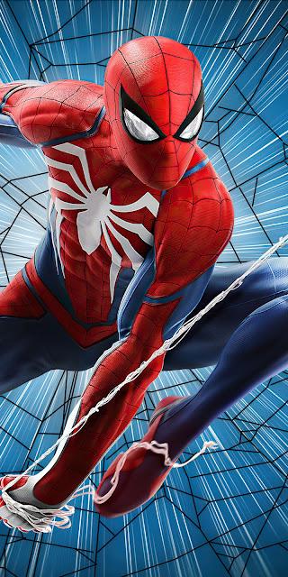 Wallpaper Spiderman Ps4 Fan Art free wallpaper