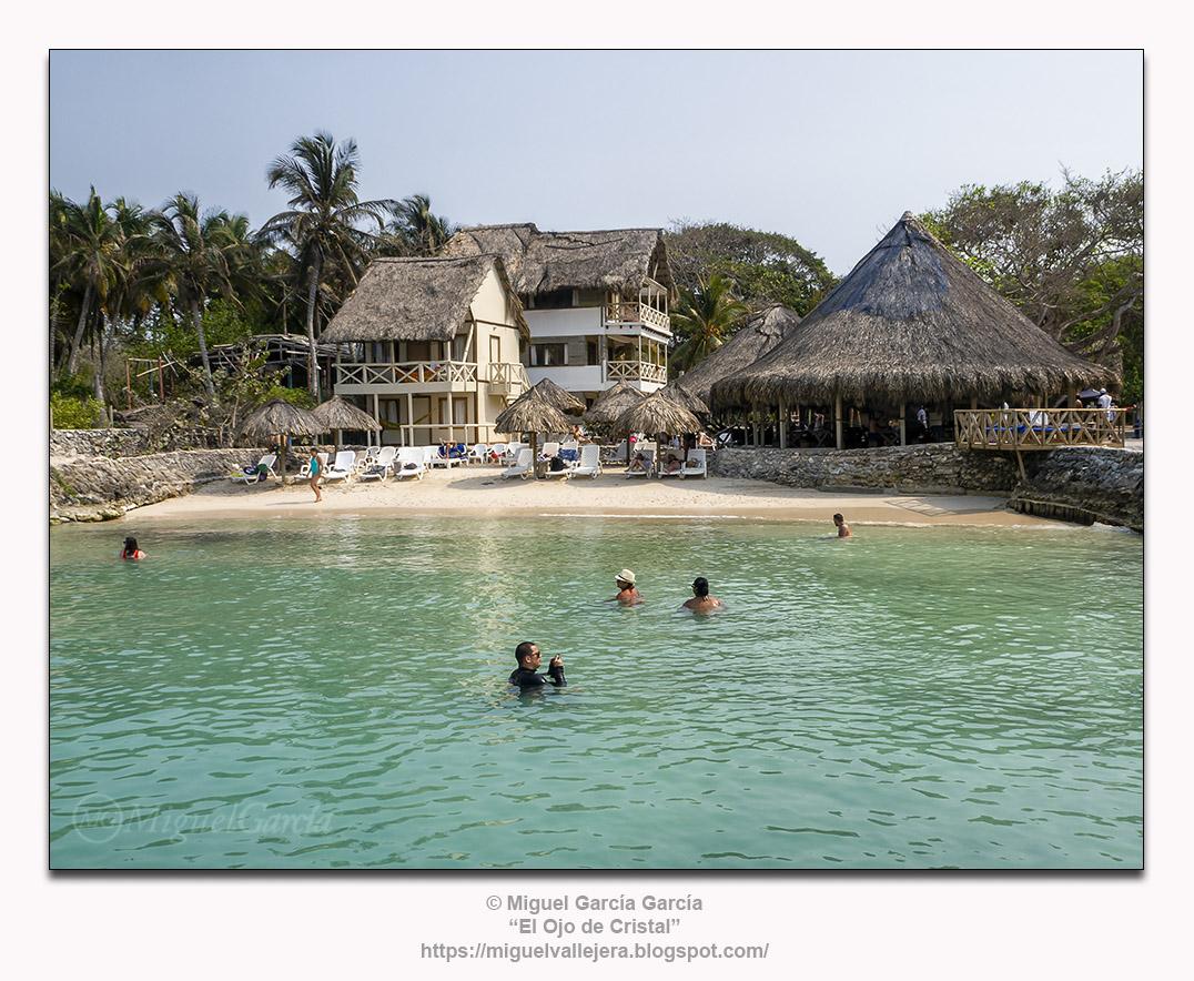 Isla Grande, hotel Isla del Sol, en Islas del Rosario (Colombia)