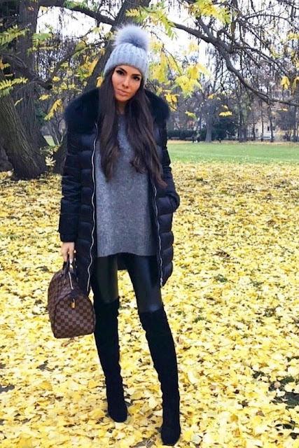 No inverno as pessoas costumam usar roupas mais quentes e se agasalhar mais.  Podemos usar looks lindos e tirar ótimas fotos tumblr para postar no Instagram. Você pode usar botas, cachecol, casacos, luvas, calças... O mais legal é que você pode aproveitar as peças de roupas que já tem em casa, isso é incrível. Você não precisa gastar nada para ter um look maravilhoso e tumblr para arrasar no inverno e no Instagram.