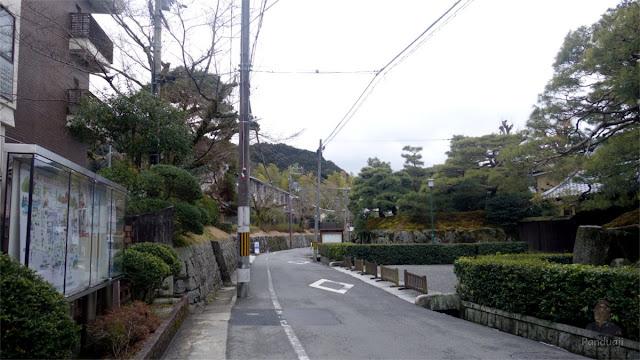 Jalan kaki menuju Nanzenji Temple