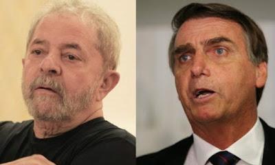 PGE pede punição para Bolsonaro e Lula por anteciparem propaganda eleitoral