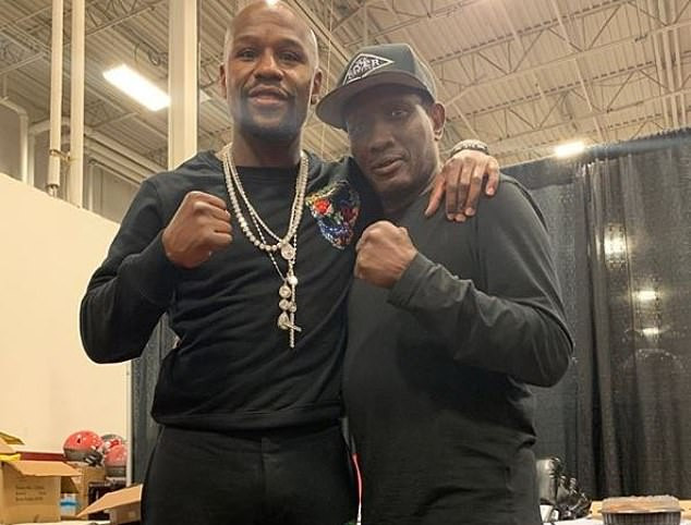Floyd Mayweather pays tribute to boxing great Pernell 'Sweet Pea' Whitaker after he was killed in an accident in Virginia