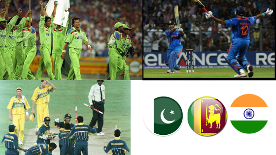 The 3 Greatest World Cup Cricket Matches