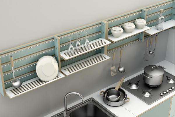 Una cucina da comporre come vuoi dettagli home decor - Comporre una cucina ...