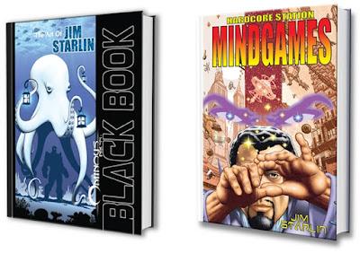 Jim Starlin, Ominous Press, Kicksarter, mindgames, black book
