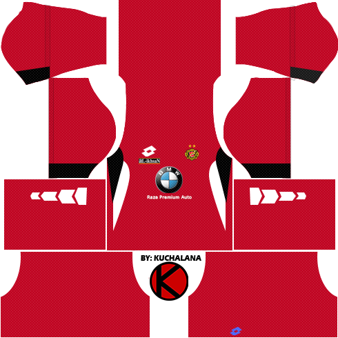 525f4ff1c Kelantan Pre-Season 2018 Kit - Dream League Soccer Kits - Kuchalana