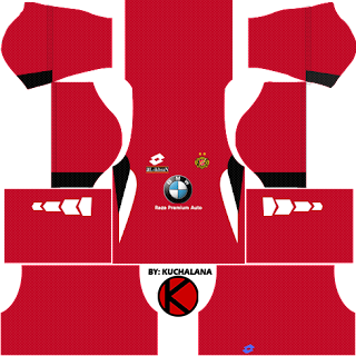 Kelantan Pre-Season 2018 Kit - Dream League Soccer Kits