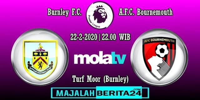 Prediksi Burnley vs AFC Bournemouth — 22 Februari 2020