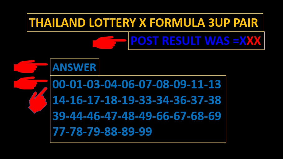 HOW TO PLAY THAI LOTTERY Updated for ***16-10-2020 *** สลากกินบ่ง ...